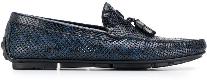 1c1b75ea1aa snakeskin-effect loafers