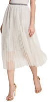 Loyd/Ford Mesh Lace Midi Skirt