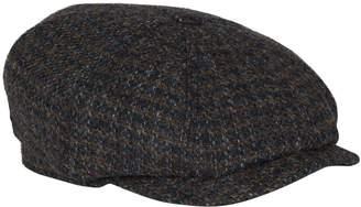 Stetson Tweed Hatteras Flat Cap