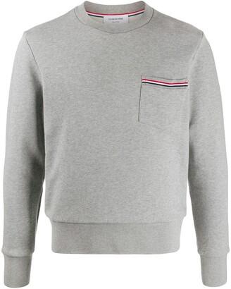 Thom Browne RWB-detail sweatshirt