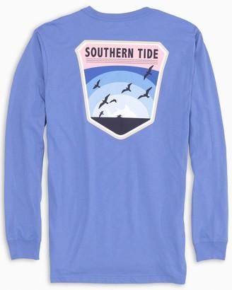 Southern Tide Long Sleeve Coastal Badge T-Shirt