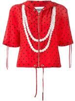 Moschino Women's Red Silk Sweatshirt.
