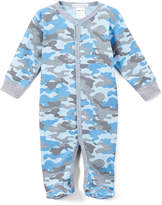 Baby Steps Blue Camo Footie - Infant