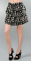 Draped Front Skirt