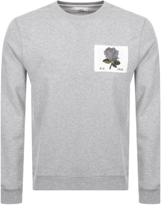 Kent And Curwen 1926 Icon Sweatshirt Grey