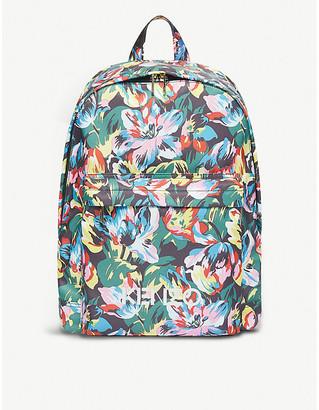 Kenzo X Vans floral-print woven backpack