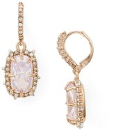 Alexis Bittar Crystal Leverback Drop Earrings
