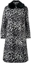 Marc Jacobs snow leopard print overcoat
