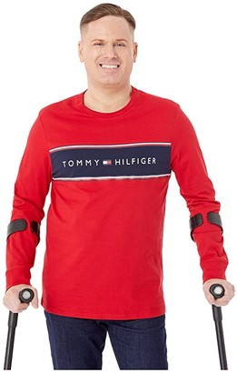 Tommy Hilfiger Adaptive Spectrum Tee (Apple Red) Men's Clothing