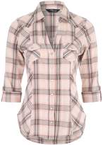 Jane Norman 34 Sleeve Check Shirt