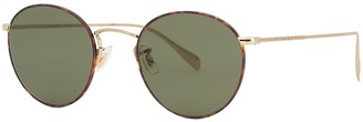 Oliver Peoples Coleridge Sun Round-frame Sunglasses