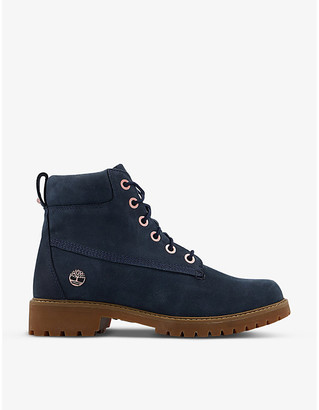 Timberland Slim Premium 6-inch suede boots