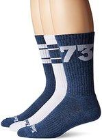 Timberland Men's 3 Pack '73 Crew Sock
