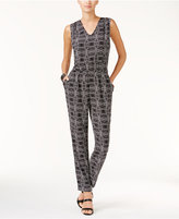 Vince Camuto Printed Jumpsuit