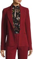 A.L.C. Duke One-Button Tailored Blazer Jacket