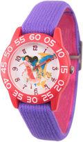 Disney Elena of Avalor Girls Purple Strap Watch-Wds000274