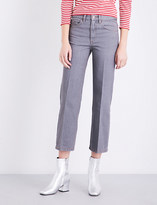 Marc Jacobs Flared cropped mid-rise jeans