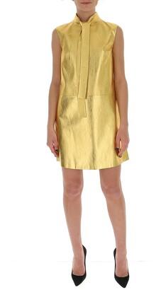 Prada Pussybow A-Line Dress