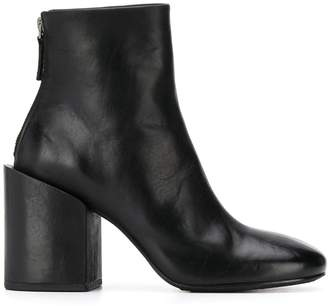 Marsèll chunky heel round-toe boots