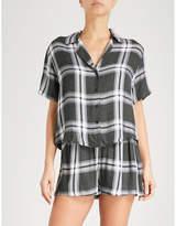 Rails Check flannel pyjama set