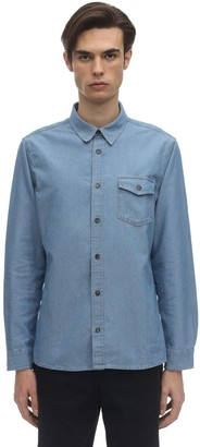 A.P.C. Michel Cotton Chambray Shirt