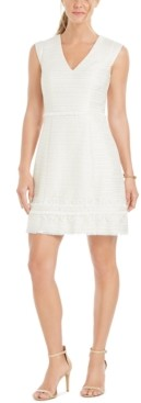 Vince Camuto Tweed Fit & Flare Dress