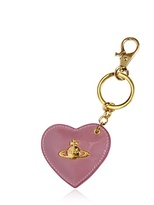 Vivienne Westwood Heart Patent Leather Key Holder