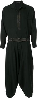Yohji Yamamoto Asymmetrical Belted Coat
