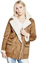 GUESS Women's Simone Faux-Suede Jacket