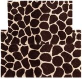 Chesapeake Giraffe 2-pc. Bath Rug Set