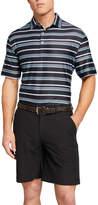 Hickey Freeman Men's Stripe Polo Shirt