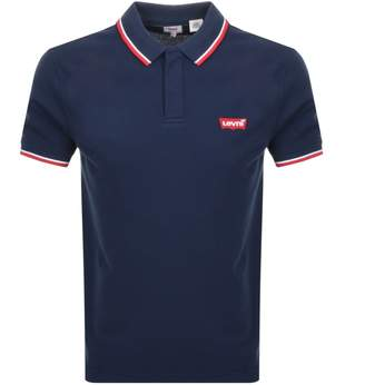 Levi's Levis Original Modern Polo T Shirt Navy