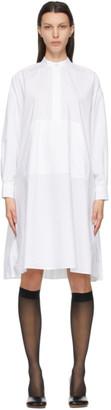 MM6 MAISON MARGIELA White Poplin Pocket Pouch Dress