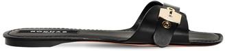 Rochas 10mm Leather Slides