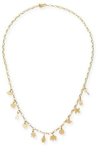 Sydney Evan Pure Charm 14K Gold Necklace