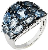 Effy Jewelry Effy 925 Sterling Silver Blue Topaz Ring, 6.15 TCW