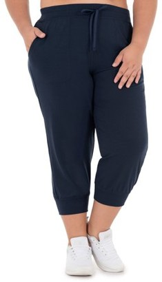Athletic Works Women's Plus Size French Terry Drawstring Jogger
