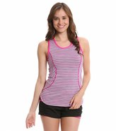 MPG Women's Interval Space Dye Striped Running Tank 7537142