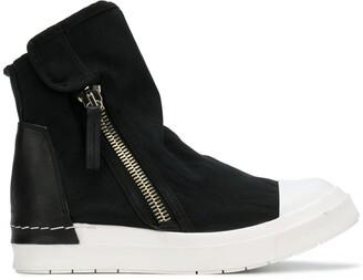 Cinzia Araia Zipped Flat Sneakers