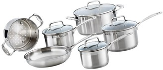 Baccarat iconiX Stainless Steel 6-Piece Cookware Set