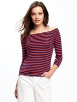 Old Navy Semi-Fitted Off-Shoulder Top for Women