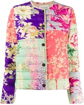 Etro floral-print downfilled jacket