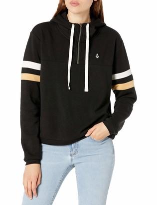 Volcom Women's Color Coded Hoodie Hooded Sweatshirt