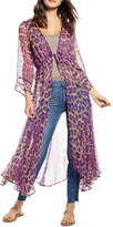 Nfc New Friends Colony Hot Shot Leopard Print Duster