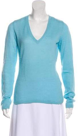 Long Sleeve Cashmere Top