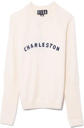 Veda Gus Cashmere Sweater in Cream Charleston