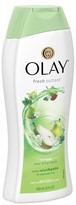 Olay Fresh Outlast Crisp Pear & Fuji Apple Body Wash - 22oz