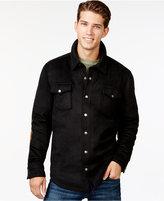 American Rag Men's Elbow-Patch Shirt Jacket