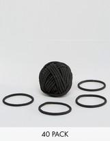 Asos Basics Pack of 40 Hair Ties