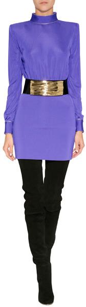 Balmain Dress in Violet